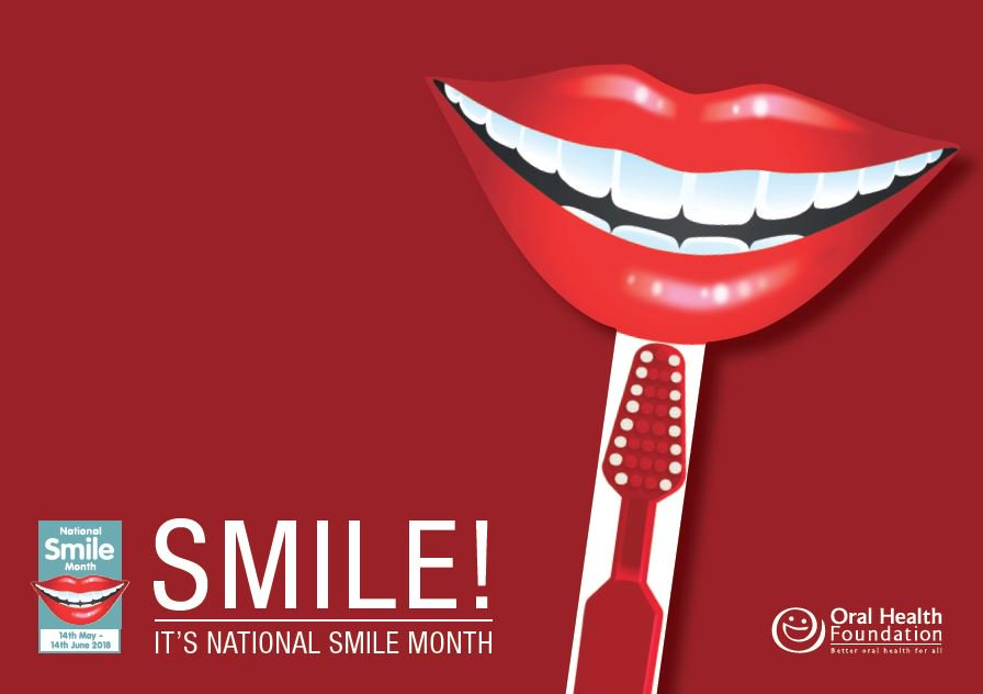 Smile! It's National Smile Month